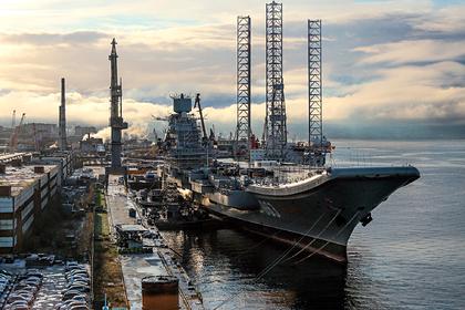 В США российский «Адмирал Кузнецов» назвали проклятым