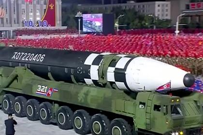 Новая ракета Северной Кореи оказалась макетом