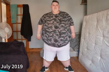 260-килограммовая персона похудела на 80 килограммов ради операции по смене пола