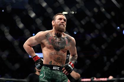 Макгрегор опустился в рейтинге UFC