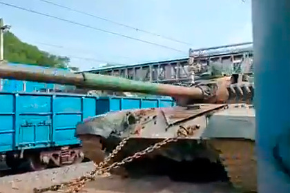 Самую редкую модификацию российского Т-90С заметили в Индии