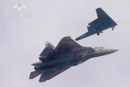 Раскрыты цели ведомого Су-57