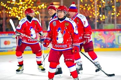 Путин выйдет на лед в матче Ночной хоккейной лиги