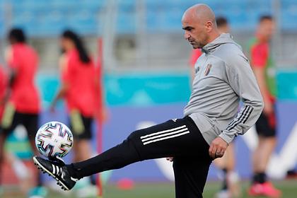 Тренер сборной Бельгии назвал испытанием предстоящий матч против России