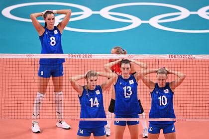Российские волейболистки проиграли Турции и вышли в плей-офф с четвертого места