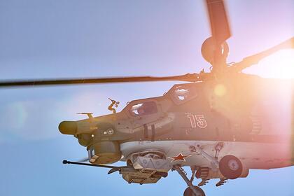 Российский вертолет «Ночной охотник» оснастят новейшей неуправляемой ракетой