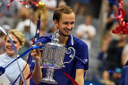 Захарову поразила речь Медведева на церемонии награждения US Open