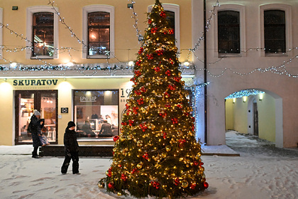 Россиянам назвали даты новогодних выходных