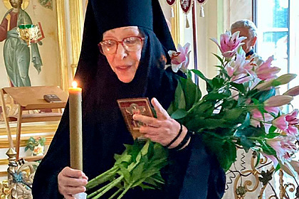 Народная артистка Екатерина Васильева рассказала о причинах ухода в монастырь