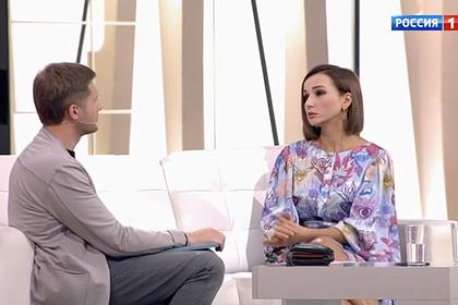 Российская телеведущая назвала причину развода с мужем
