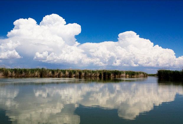 Устье реки Или, озеро Балхаш