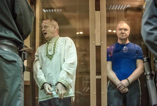 Судилище приговорило полковника В. Квачкова к 13 годам тюрьмы строгого режима