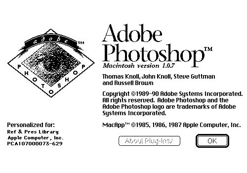Adobe Photoshop 1.0.1