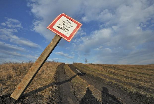 Фермерское поле в Ставропольском крае