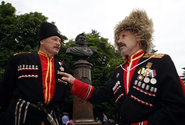 Казаки в Ставрополе
